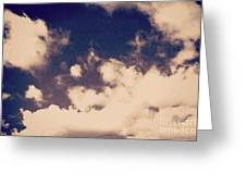 Clouds-2 Greeting Card