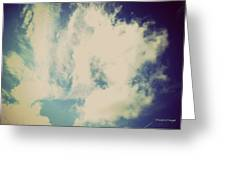 Clouds-5 Greeting Card