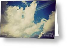 Clouds-7 Greeting Card