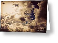 Clouds-8 Greeting Card