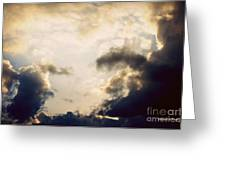 Clouds-9 Greeting Card