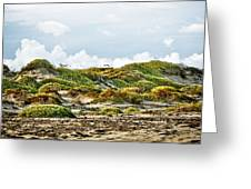 Clouds And Dunes Greeting Card