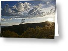 Clouds At Sunset II Greeting Card