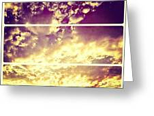 #clouds #bible #phonto #sky Greeting Card