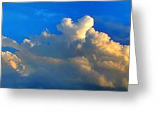 A Heart On Top Of The Clouds Greeting Card