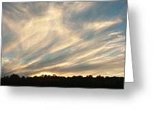 Clouds Delight Greeting Card