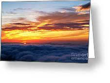 Clouds From Haven. Greeting Card