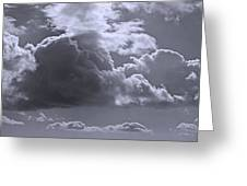 Clouds Gathering Greeting Card