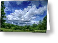 Clouds Greeting Card by Matthew Green