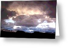 Clouds Natural Art Greeting Card