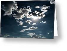 Clouds On A Sunny Day Greeting Card