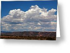 Clouds Over A Mesa Greeting Card