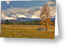 Clouds Over Algonquin Mountain Greeting Card