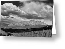 Clouds Over Breckenridge Colorado Greeting Card