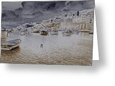 Clouds Over Brixham Greeting Card
