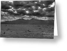 Clouds Over Capitan Greeting Card