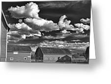 Clouds Over Knox 13804b Greeting Card