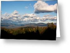 Clouds Over New Hampshire Greeting Card