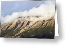 Clouds Over Porphyry Mountain Greeting Card