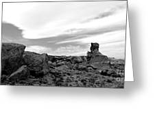Cloudswept Bisti Spire Greeting Card