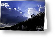 Cloudy With A Chance Of Sunshine Greeting Card