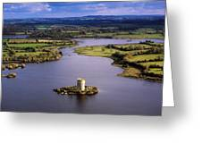 Cloughoughter Castle, Co Cavan, Ireland Greeting Card