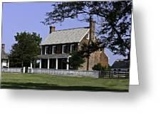 Clover Hill Tavern Appomattox Virginia Greeting Card by Teresa Mucha