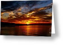 Clover Point Sunrise Greeting Card