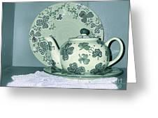 Clover Tea  Greeting Card
