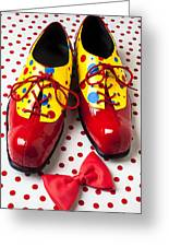 Clown Shoes  Greeting Card