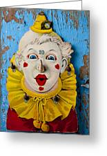 Clown Toy Game Greeting Card