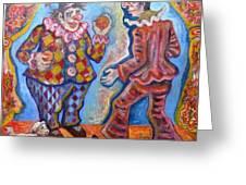 Clowns Greeting Card