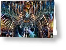 Clutches Of Eternity Fx Greeting Card