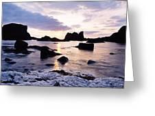 Co Antrim, Whitepark Bay, Ballintoy Greeting Card