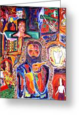Co-crucified With Christ Greeting Card