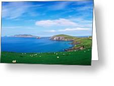 Co Kerry, Dingle Peninsula, Slea Head & Greeting Card