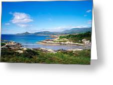 Co Kerry, Ring Of Kerry, Castlecove Greeting Card