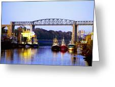 Co Louth, Drogheda And River Boyne Greeting Card