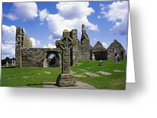 Co Offaly, Clonmacnoise Greeting Card