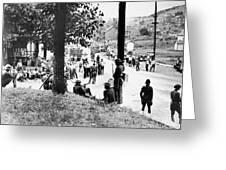 Coal Strike, 1933 Greeting Card