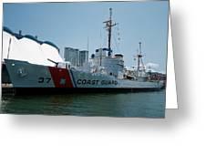 Coast Guard History  Greeting Card