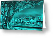Coastal Architecture Two Greeting Card