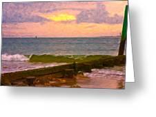 Coastal Climate Greeting Card