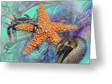 Coastal Life I Greeting Card