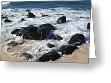 Coastal Rock Garden 2 Greeting Card