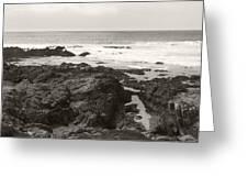 Coastal Tide Greeting Card