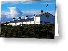 Coastguard Cottages Dunwich Heath Suffolk Greeting Card by Darren Burroughs