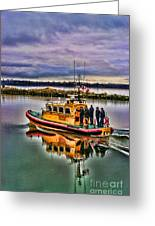 Coastguard Hdr Greeting Card