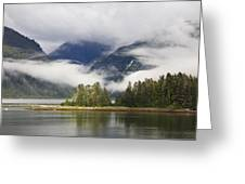 Coastline, Endicott Arm, Inside Greeting Card