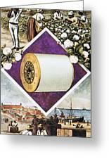 Coats Thread, C1880 Greeting Card